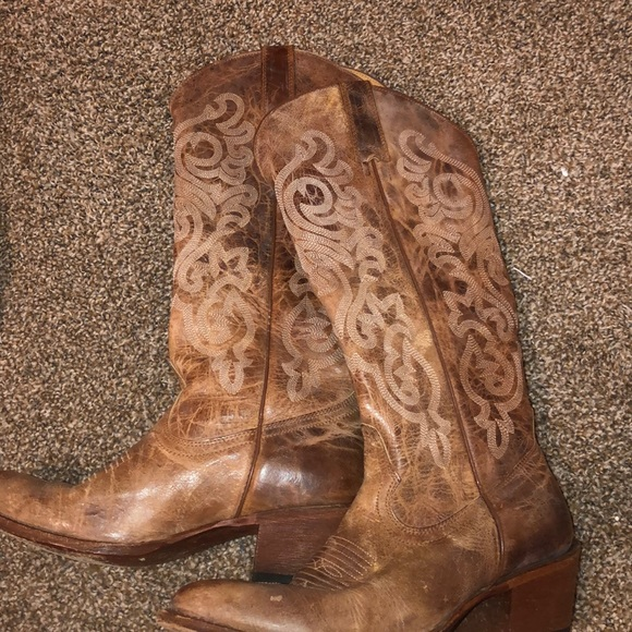 93e82f5863c Shyanne leather cowgirl boots